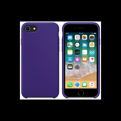 Siliconenhoesje voor iPhone 8 - Paars
