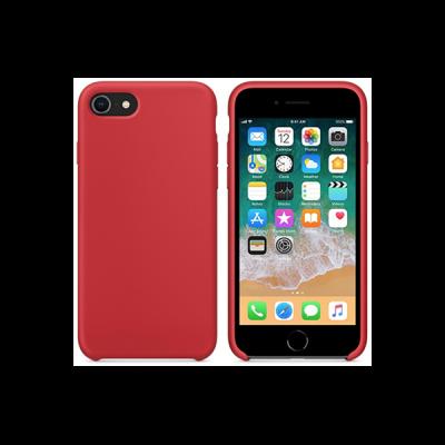 Siliconenhoesje voor iPhone 8 - Rood