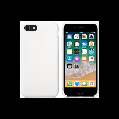 Siliconenhoesje voor iPhone 8 - Wit