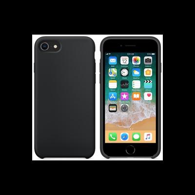Siliconenhoesje voor iPhone 8 - Zwart