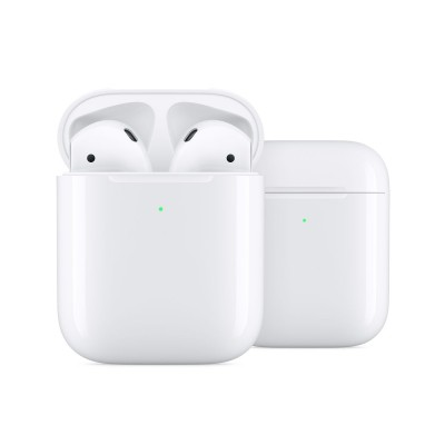 Apple AirPods met draadloze oplaadcase