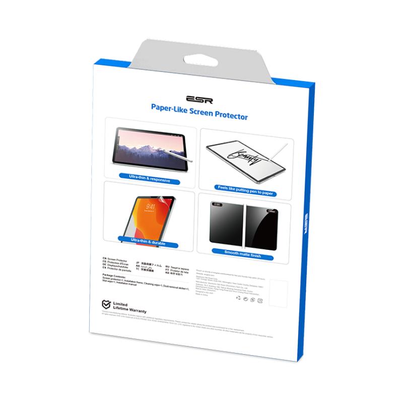 iPad Air 4   ESR Paper Feel Screen Protector