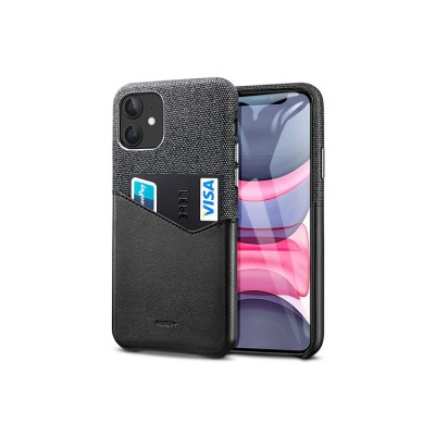 iPhone 11 | ESR Metro Wallet Series-hoesje (zwart)