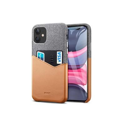 iPhone 11 | ESR Metro Wallet Series-hoesje (grijs)