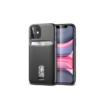 iPhone 11 | ESR Wallet Armor Series-hoesje (zwart)
