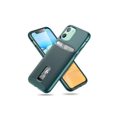 iPhone 11 | ESR Wallet Armor Series-hoesje (groen)