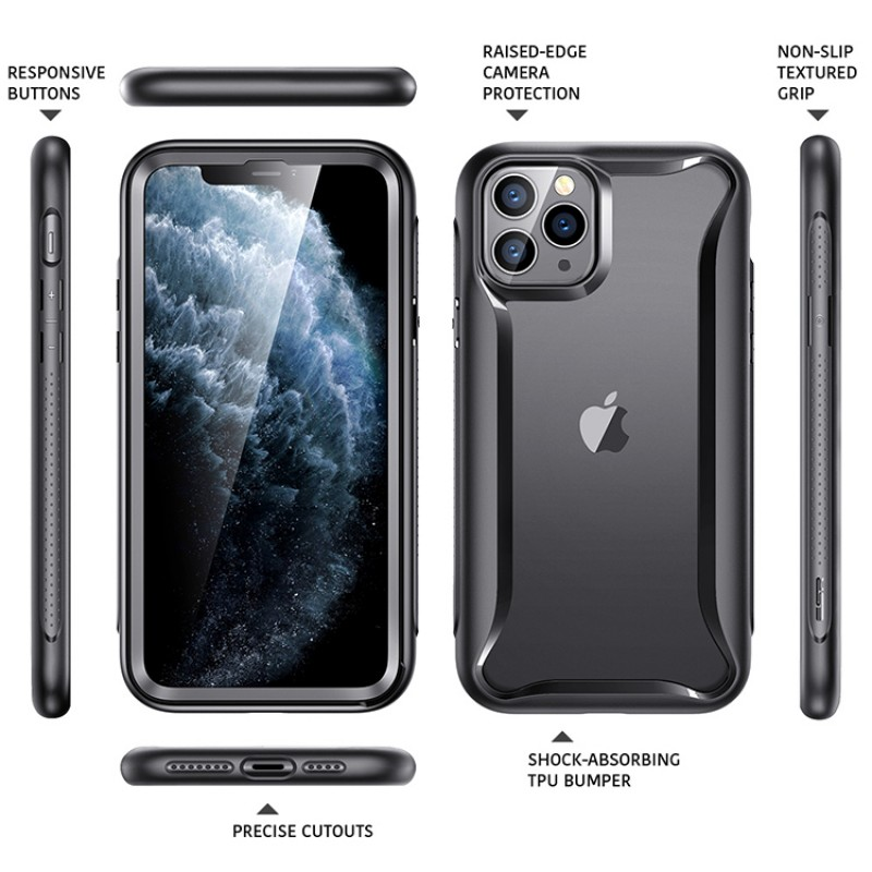 iPhone 11 Pro Max | ESR Alliance Series-hoesje (zwart)