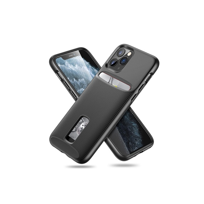 iPhone 11 Pro Max | ESR Wallet Armor Series-hoesje (zwart)