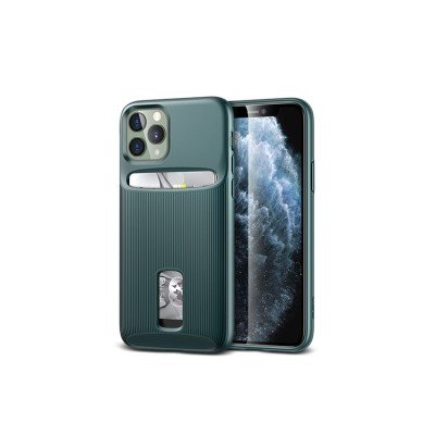 iPhone 11 Pro | ESR Wallet Armor Series-hoesje (groen)