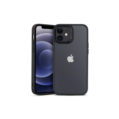 iPhone 12 Mini | ESR Classic Hybrid Series-hoesje (zwart + transparant)