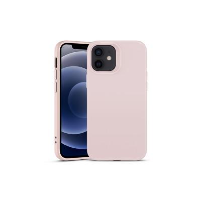 iPhone 12 Mini | ESR Cloud Series-hoesje (roze)