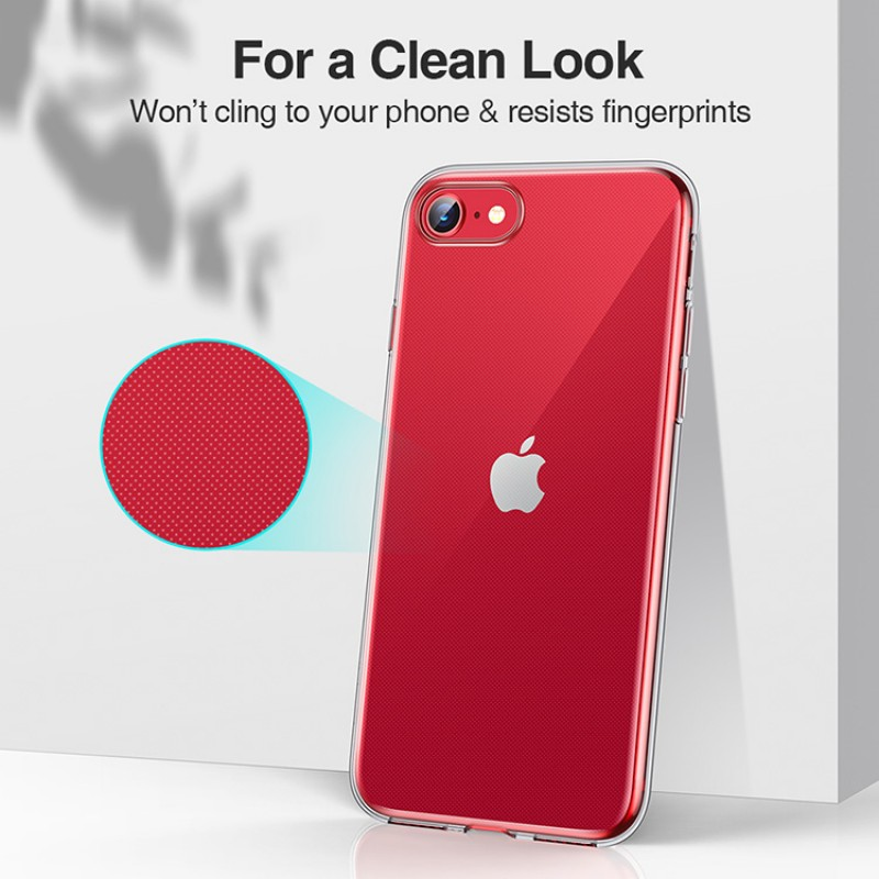 iPhone SE 2 | ESR Project Zero Series-hoesje (transparant)