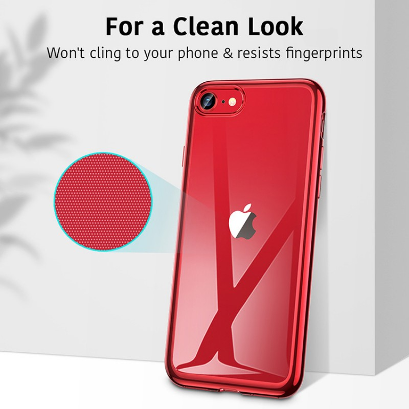 iPhone SE 2   ESR Halo Series-hoesje (rood)