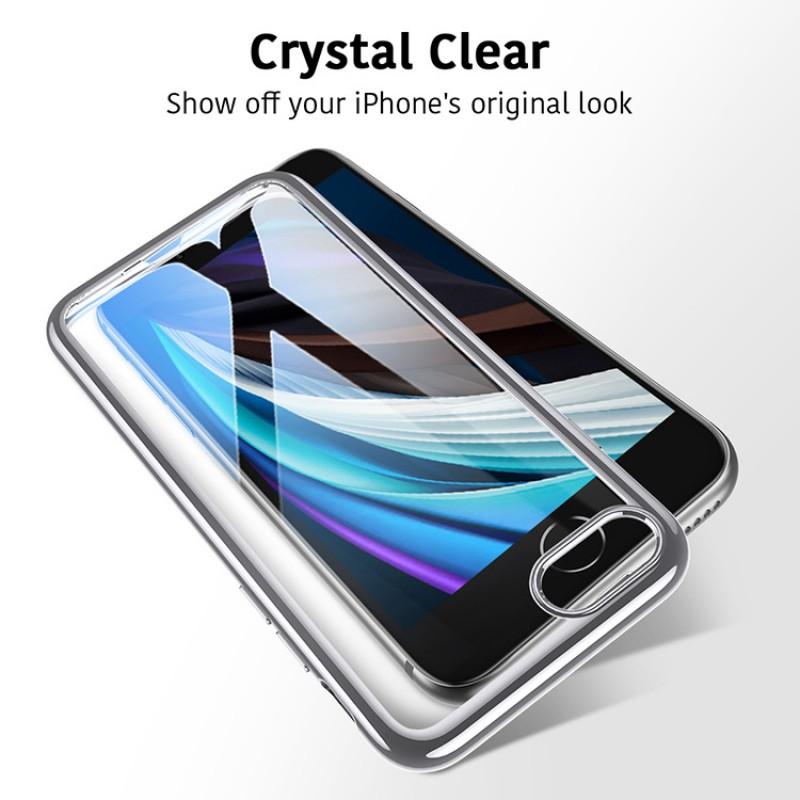 iPhone SE 2 | ESR Halo Series-hoesje (zilver)