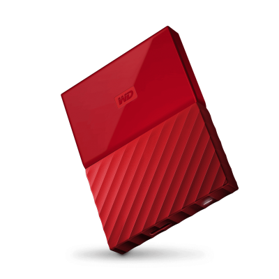 Western Digital My Passport 1TB (rood)