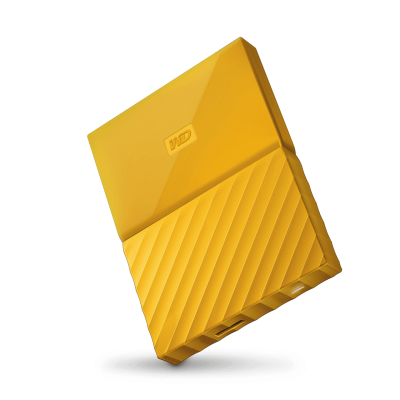 Western Digital My Passport 1TB (geel)