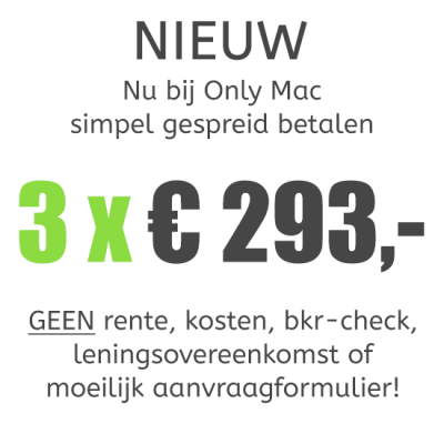 MacBook Pro (13-inch) Retina i5 - 2,6GHz - 8GB - 256GB SSD - Iris 5100 - Big Sur