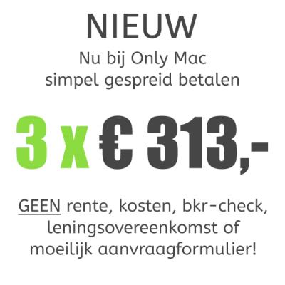 MacBook Pro (13-inch) Retina i5 - 2,7GHz - 8GB - 256GB SSD - Iris 6100 - Big Sur