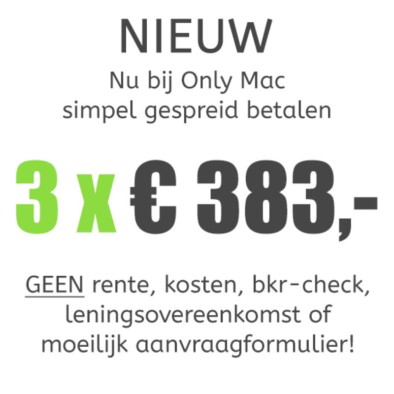 MacBook Pro (13-inch) Retina Touch Bar i5 - 2,9GHz - 8GB - 512GB SSD - Iris 550 - Big Sur