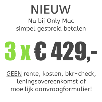 MacBook Pro (13-inch) Retina i7 - 3,1GHz - 16GB - 512GB SSD - Iris 6100 - Big Sur